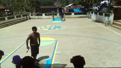 BASKETBALL COURT PREPARATIO
