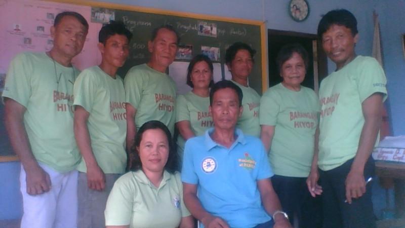 Barangay Officials of Hiyop
