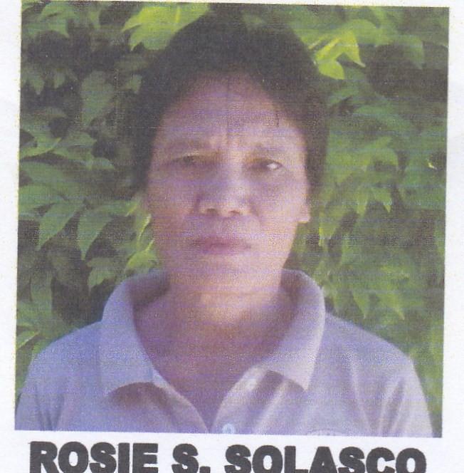 ROSIE S. SOLASCO
