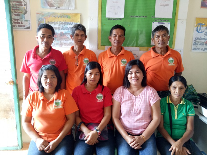 BRGY.  OFFICIALS  OF CALOMAGON