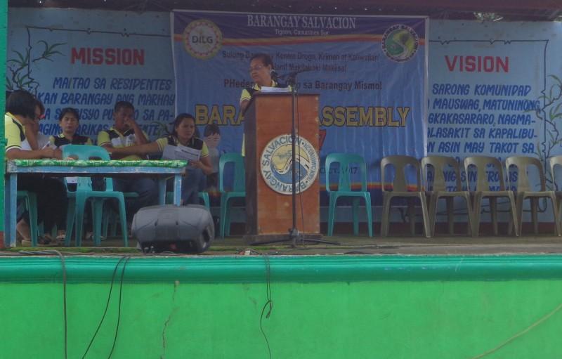 Barangay Assembly Oct. 7, 2017