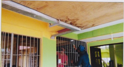 Painting of Barangay Hall