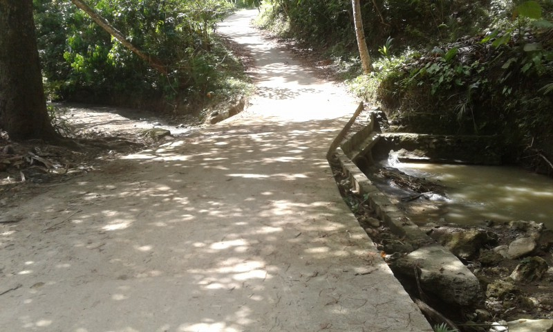 San Pedro 1 Spill Way