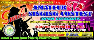Amateur Singing Contest 2018
