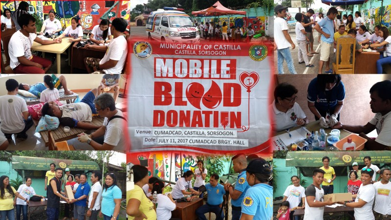 Mobile Blood Donation 2017