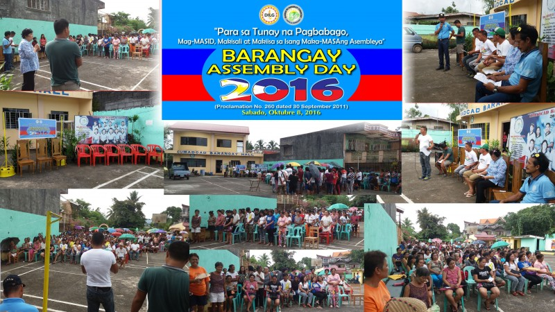 Barangay Assembly Day