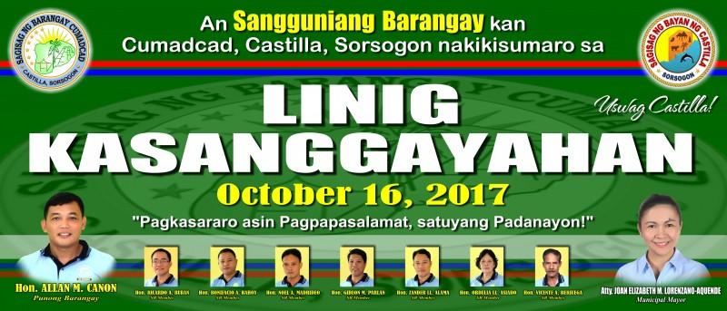 Linig Kasanggayahan 2017