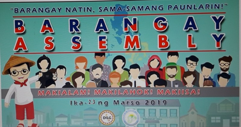 Barangay Assembly 2019